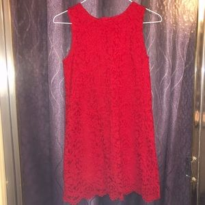 Dresses & Skirts - Girl's Red Lace Dress